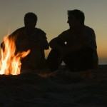 2 guys silhouette fire copy